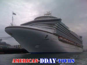 Cruiseship Le Havre