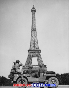 Eiffel tower late August 1944