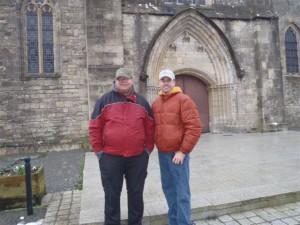 Paul & Trevor in Sainte Mère Eglise 2013