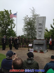 Memorial Day in Amfreville