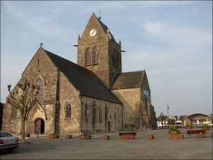 Sainte Mere Eglise church