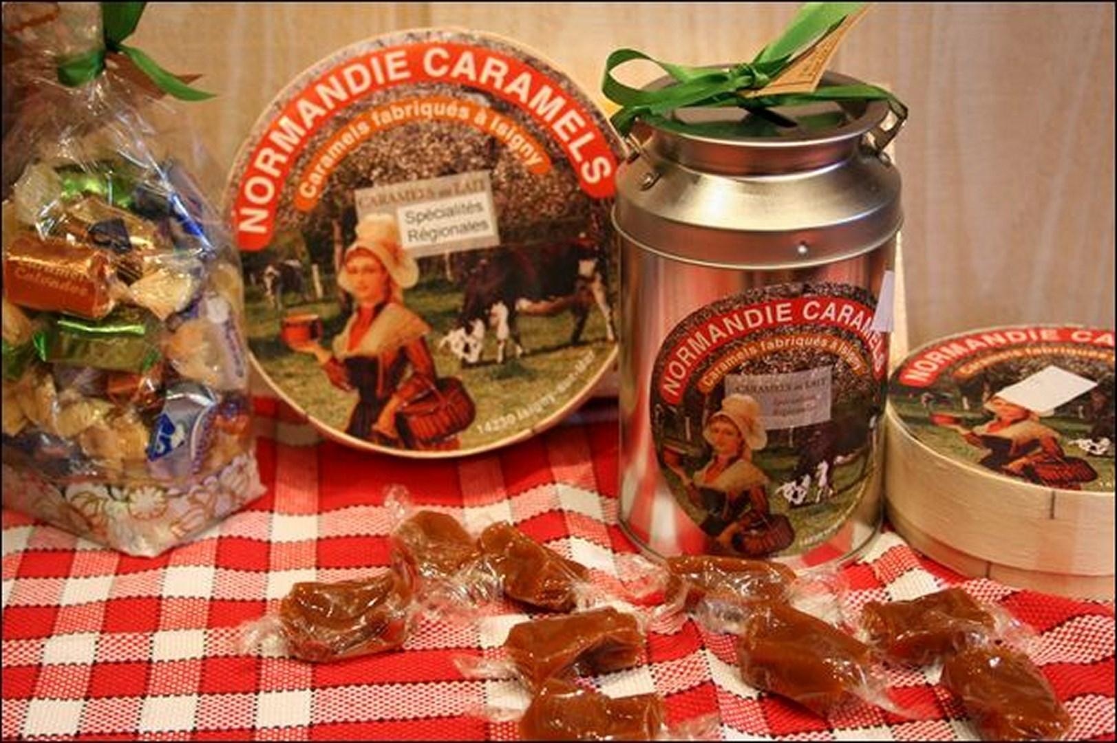Camembert, caramels...