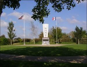 Paratroopers memorial