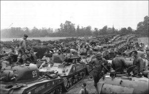 Sherman tank gathering