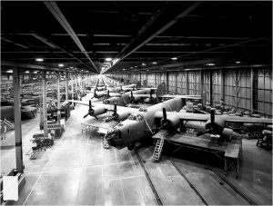 B24's on an assembly line