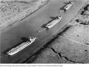 Fake landing craft
