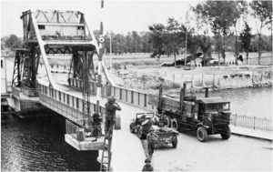 Benouville Bridge around June 6th 1944