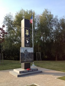 Cole's Memorial in Carentan